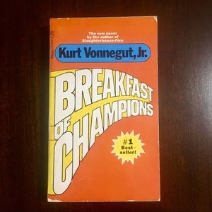 "Kurt Vonnegut ""Breakfast Of Champions"""